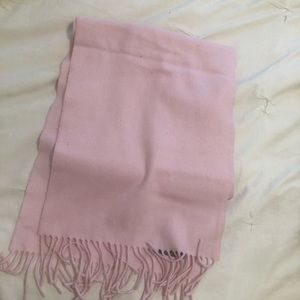 Authentic Burberry pink scarf 100% cashmere